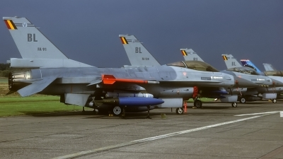 Photo ID 98837 by Rainer Mueller. Belgium Air Force General Dynamics F 16AM Fighting Falcon, FA 91