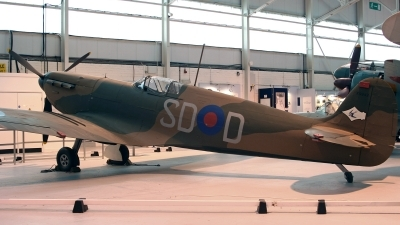 Photo ID 99375 by Kostas D. Pantios. UK Air Force Supermarine 300 Spitfire Mk1A, K9942