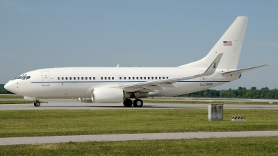 Photo ID 99365 by Günther Feniuk. USA Air Force Boeing C 40C BBJ 737 7CP, 02 0201