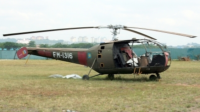Photo ID 100135 by Mir Zafriz. Malaysia Air Force Aerospatiale SA 316B Alouette III, FM 1316