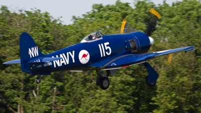 Photo ID 100040 by Andreas Zeitler - Flying-Wings. Private Private Hawker Sea Fury FB11, F AZXJ