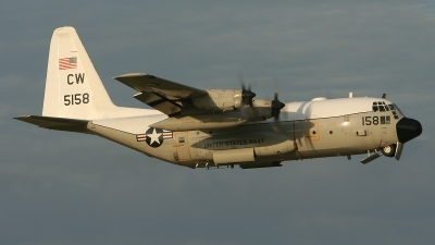 Photo ID 12791 by Jonathan Derden - Jetwash Images. USA Navy Lockheed C 130T Hercules L 382, 165158