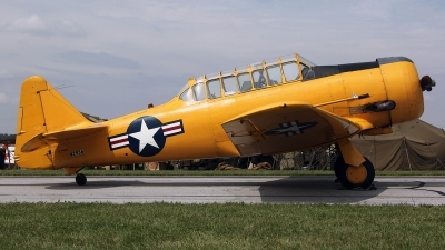 Photo ID 100152 by David F. Brown. Private Private North American Harvard II, N2956