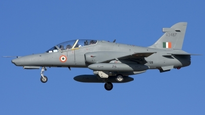 Photo ID 12836 by Gordon Zammit. India Air Force BAE Systems Hawk 132, ZK128