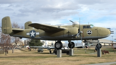 Photo ID 12838 by Jaysen F. Snow - Midwest Tail Chasers. USA Army North American B 25J Mitchell, 44 30493