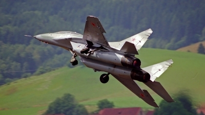 Photo ID 100506 by Sven Zimmermann. Russia Air Force Mikoyan Gurevich MiG 29UB 9 51,