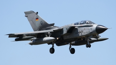 Photo ID 100522 by Rainer Mueller. Germany Air Force Panavia Tornado IDS, 45 76