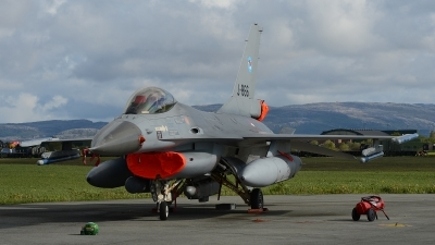 Photo ID 100595 by Lieuwe Hofstra. Netherlands Air Force General Dynamics F 16AM Fighting Falcon, J 866