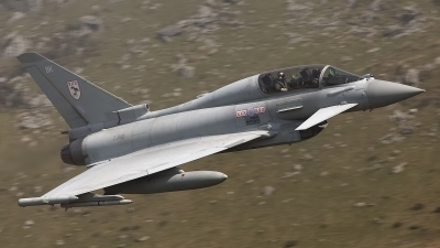Photo ID 100678 by Lloyd Horgan. UK Air Force Eurofighter EF 2000 Typhoon T1, ZJ812