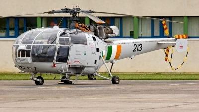 Photo ID 12891 by Cristian Schrik. Ireland Air Force Aerospatiale SA 316B Alouette III, 213
