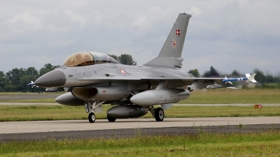 Photo ID 100961 by Coert van Breda. Denmark Air Force General Dynamics F 16BM Fighting Falcon, ET 198