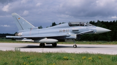 Photo ID 100986 by Erik op den Dries. Germany Air Force Eurofighter EF 2000 Typhoon T, 30 03