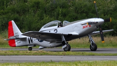 Photo ID 101357 by Rainer Mueller. Private Private North American TF 51D Mustang, PH VDF