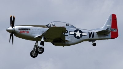 Photo ID 101425 by Rainer Mueller. Private Private North American TF 51D Mustang, PH VDF