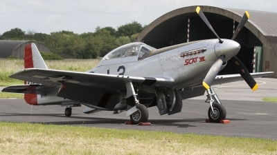 Photo ID 101638 by Niels Roman / VORTEX-images. Private Private North American TF 51D Mustang, PH VDF