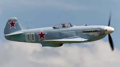 Photo ID 101888 by Andreas Zeitler - Flying-Wings. Private Private Yakovlev Yak 3UA, G CGXG