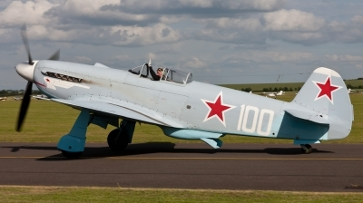 Photo ID 101889 by Andreas Zeitler - Flying-Wings. Private Private Yakovlev Yak 3UA, G CGXG