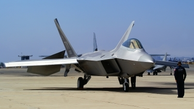 Photo ID 101830 by Lukas Kinneswenger. USA Air Force Lockheed Martin F 22A Raptor, 00 4016