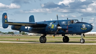 Photo ID 102029 by Steve Homewood. Private Commemorative Air Force North American B 25J Mitchell, N9643C