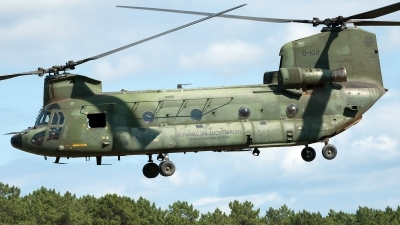 Photo ID 102080 by Ricardo Manuel Abrantes. Netherlands Air Force Boeing Vertol CH 47D Chinook, D 102
