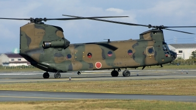 Photo ID 13119 by Frank Noort. Japan Army Kawasaki Boeing Vertol CH 47J, 52906