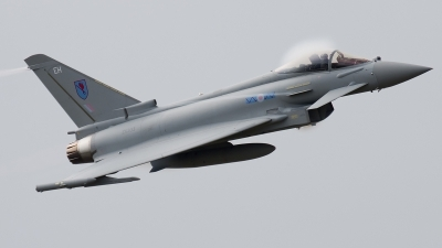 Photo ID 102103 by Alex van Noye. UK Air Force Eurofighter EF 2000 Typhoon FGR4, ZK333