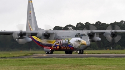 Photo ID 102099 by David Marshall. Colombia Air Force Lockheed C 130H Hercules L 382, FAC1004