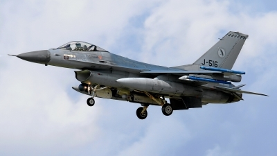 Photo ID 102385 by Rainer Mueller. Netherlands Air Force General Dynamics F 16AM Fighting Falcon, J 516