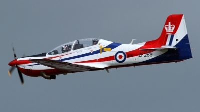 Photo ID 102257 by Maurice Kockro. UK Air Force Short Tucano T1, ZF269