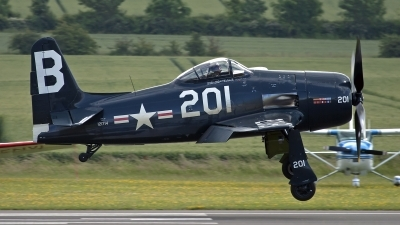 Photo ID 103477 by Niels Roman / VORTEX-images. Private The Fighter Collection Grumman F8F 2P Bearcat, G RUMM