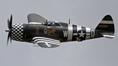 Photo ID 103478 by Niels Roman / VORTEX-images. Private The Fighter Collection Republic P 47G Thunderbolt, G CDVX