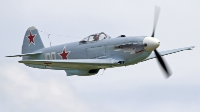 Photo ID 103180 by Niels Roman / VORTEX-images. Private Private Yakovlev Yak 3UA, G CGXG