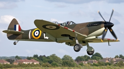 Photo ID 102255 by Niels Roman / VORTEX-images. Private Historic Flying Ltd Supermarine 509 Spitfire T9C, G CCCA