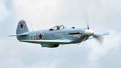 Photo ID 102319 by Martin Thoeni - Powerplanes. Private Private Yakovlev Yak 3UA, G CGXG