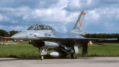 Photo ID 102304 by Rainer Mueller. Netherlands Air Force General Dynamics F 16BM Fighting Falcon, J 066