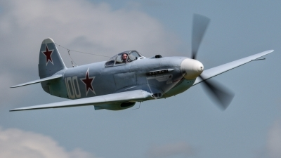 Photo ID 102476 by Adrian Harrison. Private Private Yakovlev Yak 3UA, G CGXG