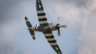 Photo ID 102354 by Adrian Harrison. Private The Fighter Collection Republic P 47G Thunderbolt, G CDVX
