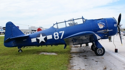 Photo ID 13242 by Hector Rivera - Puerto Rico Spotter. Private Private North American SNJ 4 Texan, N5287N