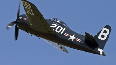 Photo ID 102959 by Niels Roman / VORTEX-images. Private The Fighter Collection Grumman F8F 2P Bearcat, G RUMM