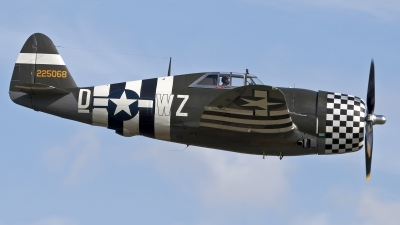 Photo ID 102987 by Niels Roman / VORTEX-images. Private The Fighter Collection Republic P 47G Thunderbolt, G CDVX
