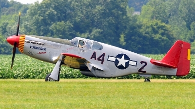 Photo ID 104363 by W.A.Kazior. Private American Airpower Heritage Flying Museum North American P 51C Mustang, N61429