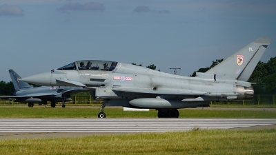 Photo ID 103551 by Lukas Kinneswenger. UK Air Force Eurofighter EF 2000 Typhoon T1, ZJ813