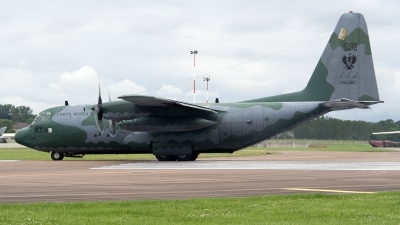 Photo ID 104004 by Niels Roman / VORTEX-images. Brazil Air Force Lockheed C 130H Hercules L 382, 2476