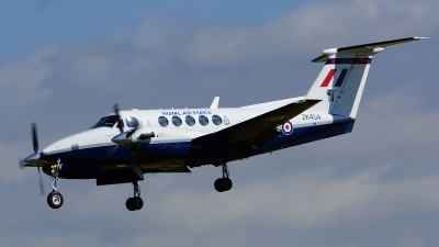 Photo ID 103898 by Lukas Kinneswenger. UK Air Force Beech Super King Air B200, ZK454