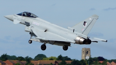 Photo ID 103628 by Lukas Kinneswenger. UK Air Force Eurofighter EF 2000 Typhoon FGR4, ZJ947