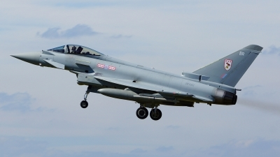 Photo ID 103656 by Lukas Kinneswenger. UK Air Force Eurofighter EF 2000 Typhoon FGR4, ZK322