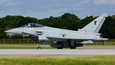 Photo ID 103654 by Lukas Kinneswenger. UK Air Force Eurofighter EF 2000 Typhoon FGR4, ZJ947