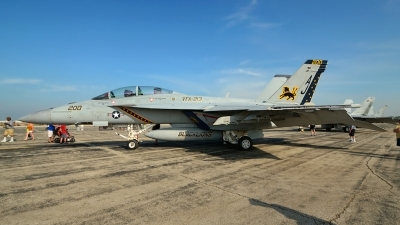 Photo ID 103878 by Rod Dermo. USA Navy Boeing F A 18F Super Hornet, 166663