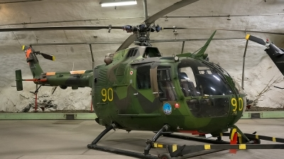 Photo ID 103984 by Lieuwe Hofstra. Sweden Army MBB BO 105CB 3 Hkp 9A, 09221
