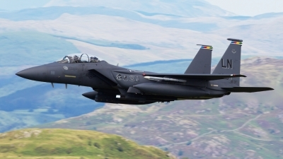 Photo ID 103907 by Neil Bates. USA Air Force McDonnell Douglas F 15E Strike Eagle, 91 0318